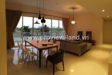 Apartment for rent The Estella large area 158 m2 with 3 bedrooms