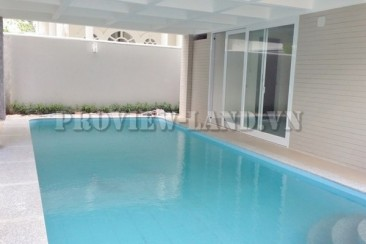 Villas Compound with nice pool and attractive price on Nguyen Van Huong, District 2