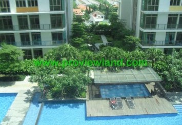 Apartment for rent in The Vista floor nice view, full furnished