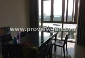 Apartment for rent in The Vista with romantic scenery, nice river view