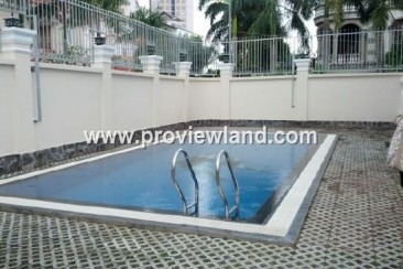 Villa Thao Dien for rent 6 bedrooms modern furniture