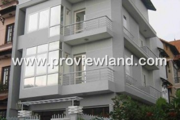 4 bed villa for rent full furnished cheap price in Thao Dien
