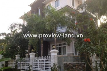 Villa for rent in Thao Dien reasonable and cheap prices