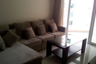 Apartment for rent in An Khang Building fully furnished, nice view, high floor