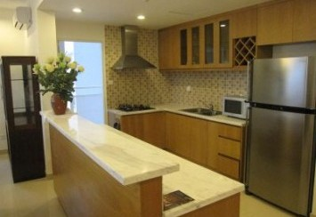 River Garden apartment for rent District 2 enjoy the sunset and nice view at night