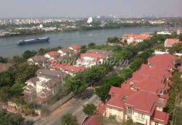 River Garden apartment for rent District 2 river view fully furnished and facilities