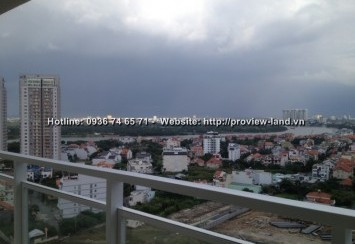 Duplex apartment for rent district 2 with 300m2 design 4 bedrooms at River Garden