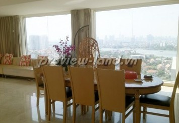 Apartment for rent District 2 big garden with 450sqm in River Gaden penthouse