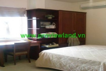 Xuan Huong Service Apartment for rent district 1 fully furnished, nice garden