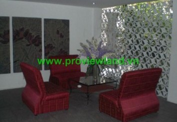Service apartment for rent district 1 with 2 beds nice and modern building