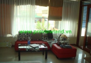 Serviced apartment for rent district 1 with modern furniture in Thai Van Lung street
