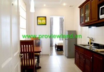 Modern service apartment for rent district 1 at Nguyen Phi Khanh