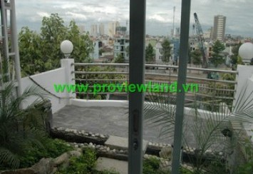 Serviced apartment for rent district 1 good traffic, near office building