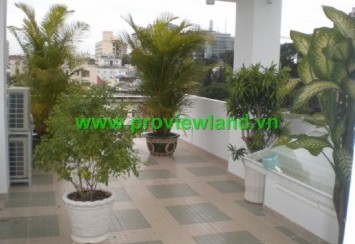 Service apartment for rent district 1 quiet and clean area in Dinh Tien Hoang Street