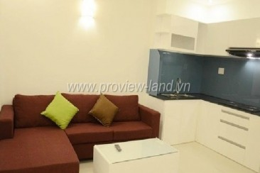 Servied apartment for rent district 1 on Duong Ba Trac Street fully furnished, nice view