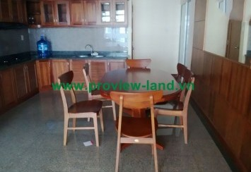 Apartment for rent district 2 quiet, polite in Hoang Anh Riverview
