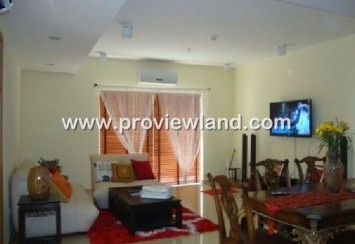 2 bedrooms River Garden apartments for rent district 2 with 135 sqm, 1300 usd