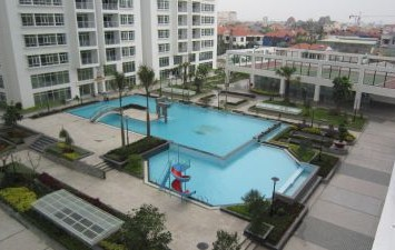 Hoang Anh River View apartments for rent with 3 beds and nice swimming pool