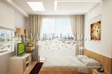 Tropic Garden apartment in Thao Dien for rent on 15th floor