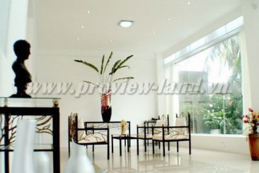 Nice house for rent in compound Tran Nao with bedrooms luxury furnished