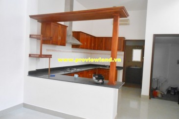 Nice house for rent in Thao Dien base furniture