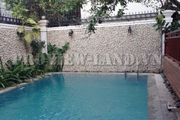 Thao Dien Villas on Nguyen Van Huong Street for rent with nice pool