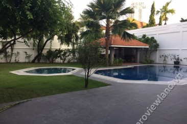 Villas for rent in Thao Dien, District 2, area of 1000m2