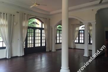 Villas Thao Dien for rent in District 2 with 5 bedrooms