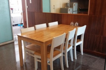 Apartment in Hoang Anh Riverview for rent 4 bedrooms high floor