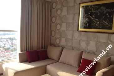 Apartment for rent in Thao Dien Pearl 2 bedrooms high floor