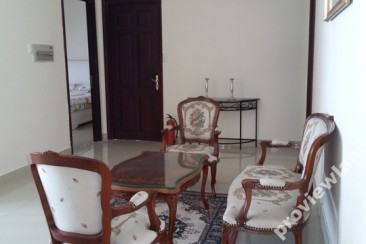 Nguyen Van Huong compound villas for rent fully furnished