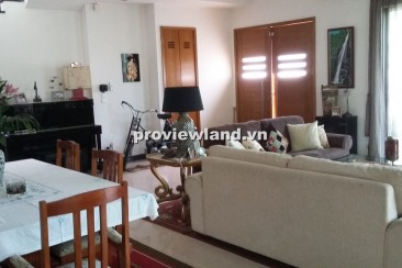 Villa for rent in District 2 at Riviera Villa compound 400sqm 2 floors 4 bedrooms