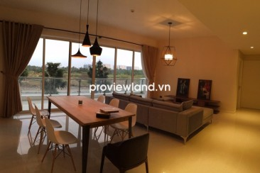 The Estella apartment for rent low floor 148 sqm 3BRs well furnished with balcony