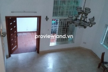 Villa for rent on Quoc Huong Str 4 bedrooms with 150 sqm 3 floors unfurnished