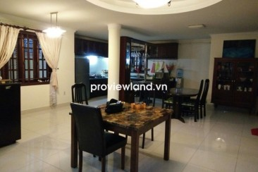 Villa for rent in Thao Dien 150sqm 2 floors 4BRs part furniture