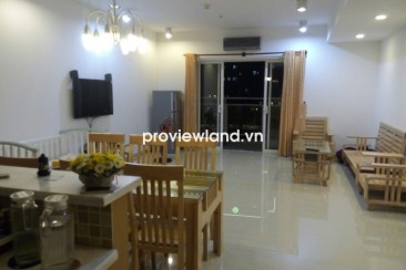 River Garden apartment for rent low floor 136sqm 3BRS small balcony with landscape view