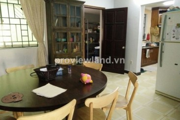 House for rent in Quoc Huong compound Thao Dien ward 3 bedrooms unfurnished