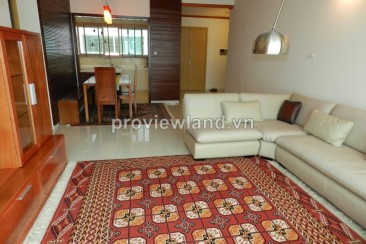 The Vista An Phu apartment for rent 140 sqm 3 bedrooms wood interior