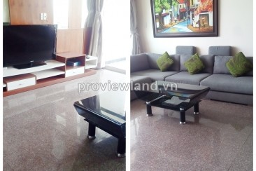 Hoang Anh Riverview in District 2 for rent 4 bedrooms on high floor luxury furnished