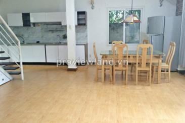 Villa for rent on Nguyen U Di Street 3 bedrooms have garden