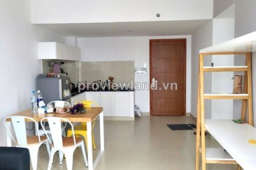 Thu Thiem Sky apartment for rent in District 2 with 2 bedrooms 56 sqm have balcony