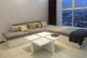 Apartments Thao Dien Pearl for rent 3 bedrooms 136 sqm river view