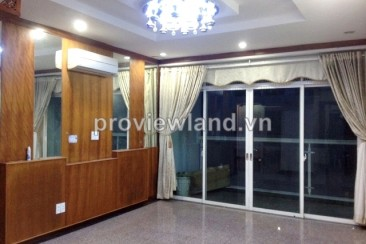 Hoang Anh Riverview in District 2 for rent 162 sqm 4 bedrooms full furniture on high floor