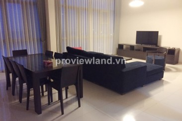 Vista apartment for rent in District 2 on 17th floor with 4 bedrooms