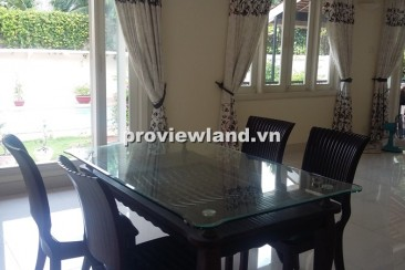 villa for rent with 800sqm  unfurnished big pool in An Phu Ward