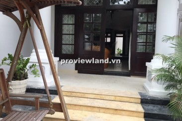 Villa for rent on Quoc Huong Thao Dien fully furnished 3 bedrooms