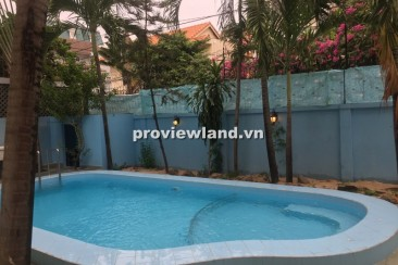 Villa for rent in Thao Dien  with 5 bedrooms 500sqm