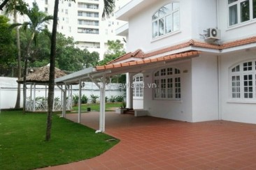 Villa Xuan Thuy for rent in District 2 generous garden with 4 bedrooms