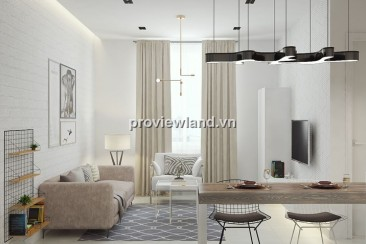 Masteri Thao Dien apartment for rent 47sqm 1BR with full furniture modern design