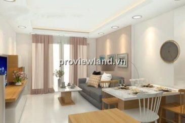 Tropic Garden for rent 2 bedrooms at A Tower full interior